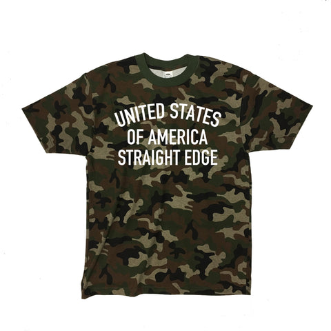 USA SXE Camo Shirt ($10 Sale!)