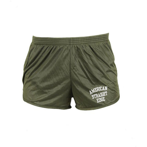 Army Green Squat Shorts