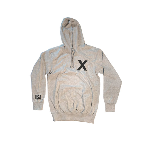 Heather Grey Training Hoodie 2.0