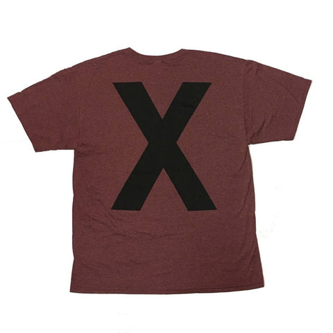 Maroon X Shirt (Lightweight Fit)