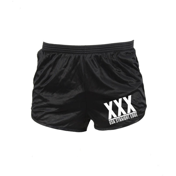 Black Squat Shorts
