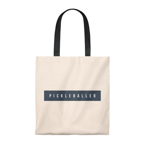 Pickleballer Tote Bag
