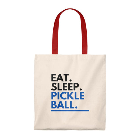 Image of Eat. Sleep. Pickleball. Tote Bag
