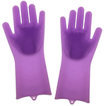 Household Silicon Handglove Brush by Mixëur - Anti Slip