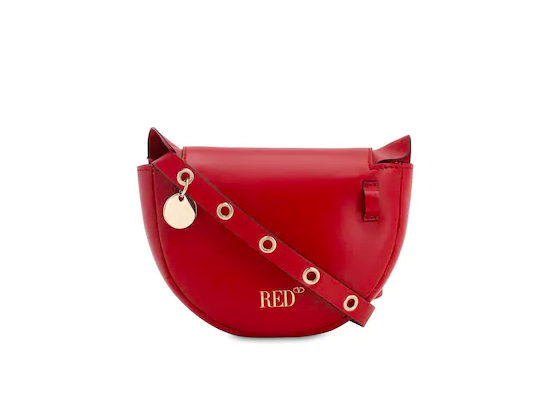 Red Valentino Audrey Leather Shoulder Bag Was £340