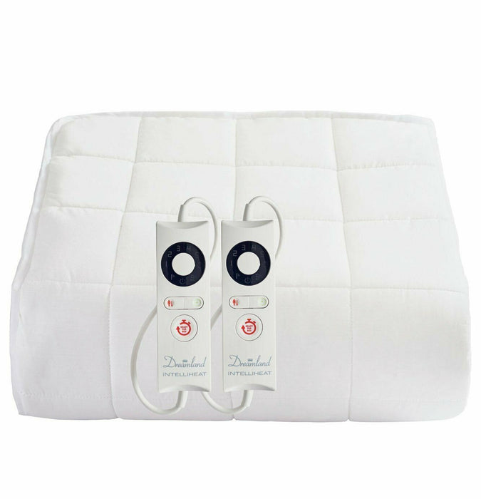 Dreamland 16441 Boutique Heated Mattress Protector King Dual Control