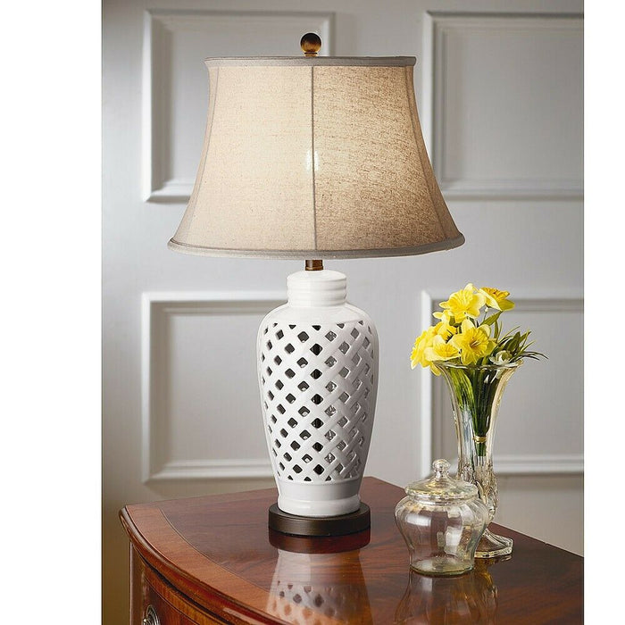 Openworks Cream Table Lamp - Free shipping