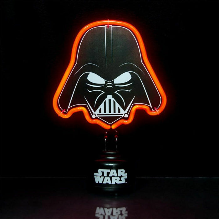 Disney Official Star Wars Darth Vader Neon Light Bedroom Night Lamp