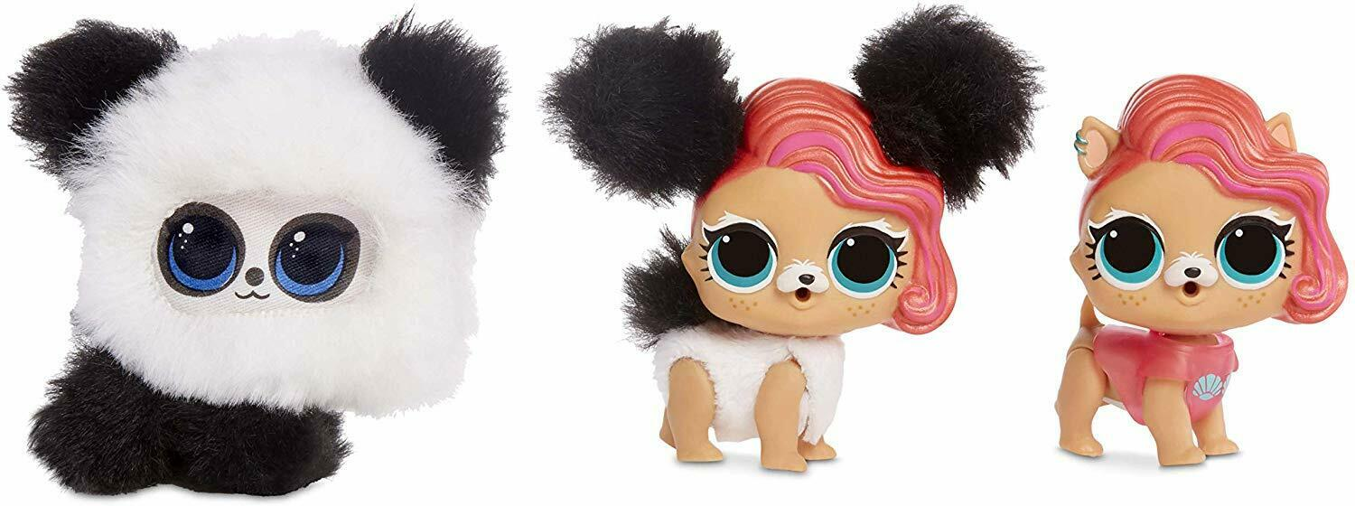 LOL Surprise 560487E7C Fluffy Pets Winter Disco Series with Removable Fur