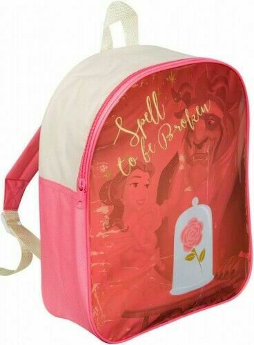 "Official Disney Princess ""Belle"" Character Junior School Backpack"