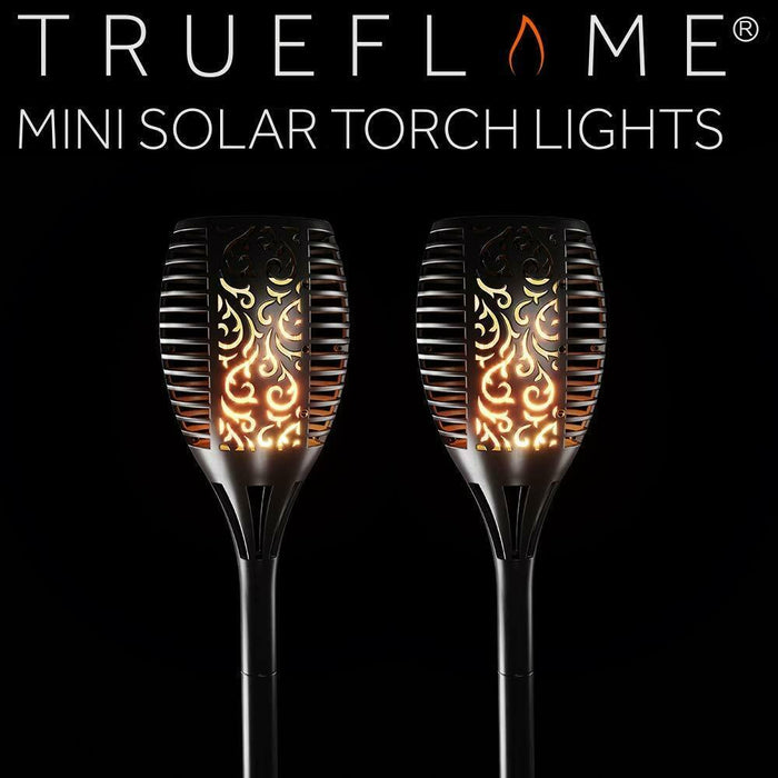 TrueFlame Mini Solar Torch Light - 2 Pack By The Solar Centre