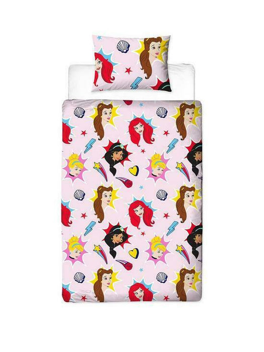 Official Disney Princess Fearless Reversible Duvet Set