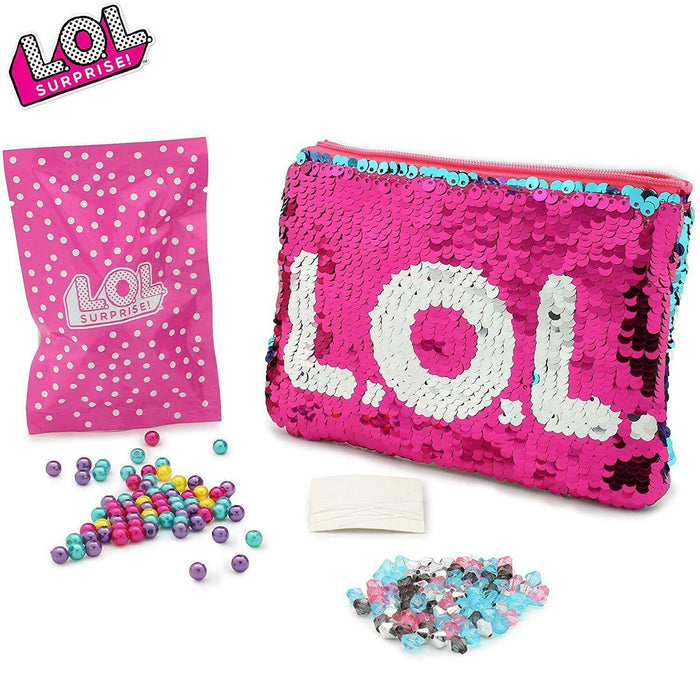 LOL Surprise-Switch Sequin Purse and Jewellery Making Kit set