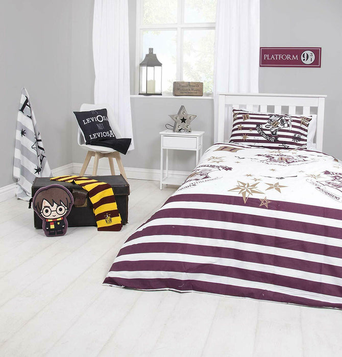 Harry Potter Duvet Cover Set with Matching Pillow Case