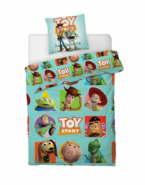 Disney Toy Story 4 Reversible Single Duvet Cover and Pillow