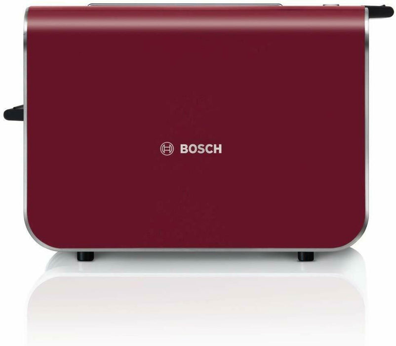 Bosch Styline 2 Slice Toaster TAT86104GB Red/Anthracite Latest Version