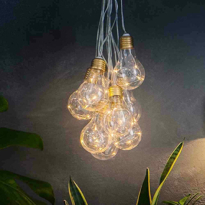 Lumify USB Solar Vintage Bulb Lights - Set Of 10 By The Solar Centre