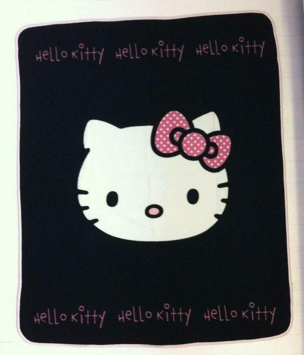 Hello Kitty Fleece Blanket 125cm x150cm