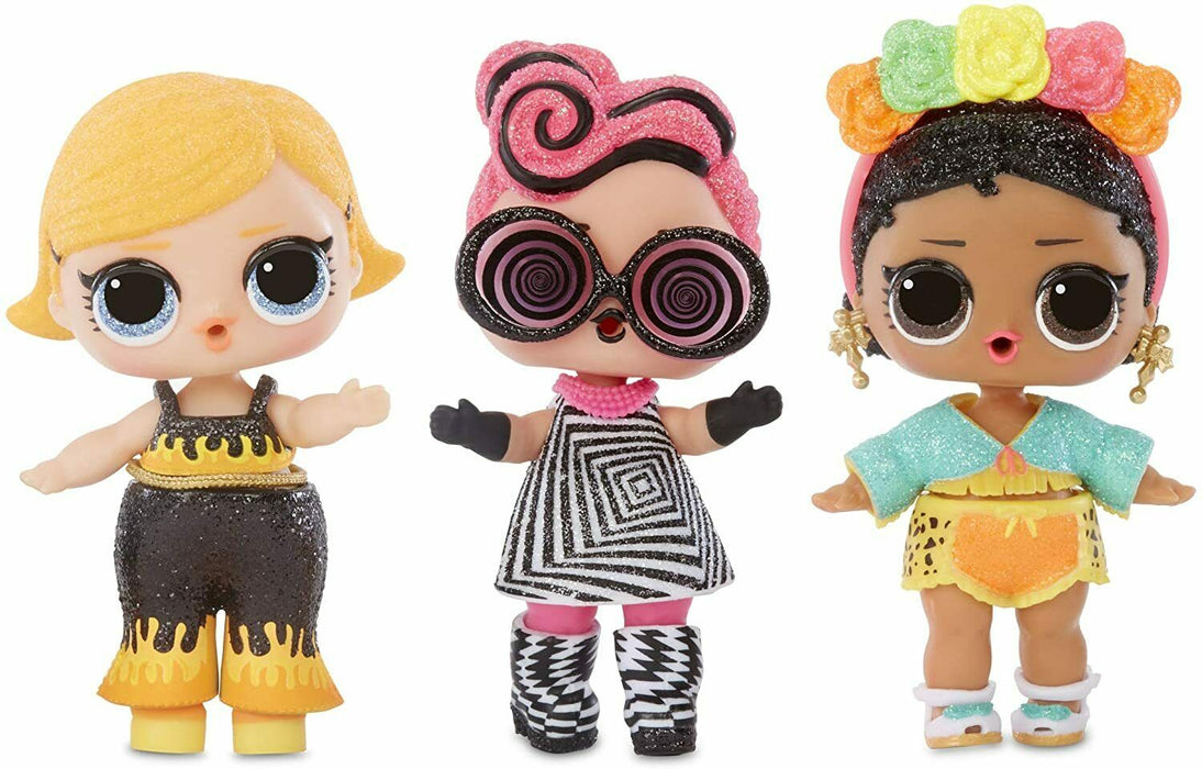 LOL Surprise! 564836E7C Glitter Doll with 8 Including Black Light Surprises