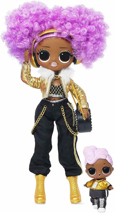 LOL Surprise! 561811 L.O.L. Surprise O.M.G. Winter Disco 24K D.J. Fashion Doll