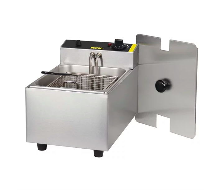 Buffalo Single Tank Single Basket Countertop Fryer 2.8kW