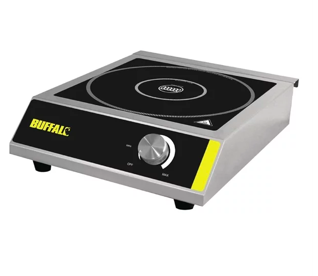 Buffalo CE208 Commercial Catering Electric Induction Hob Cooker 3kw 2020 Model
