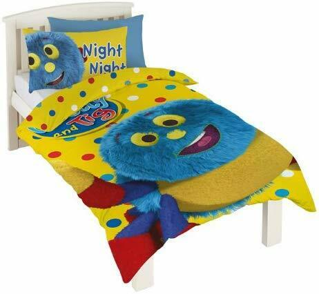 CBeebies Woolly And Tig Single Duvet Cover Set Multi-Colour