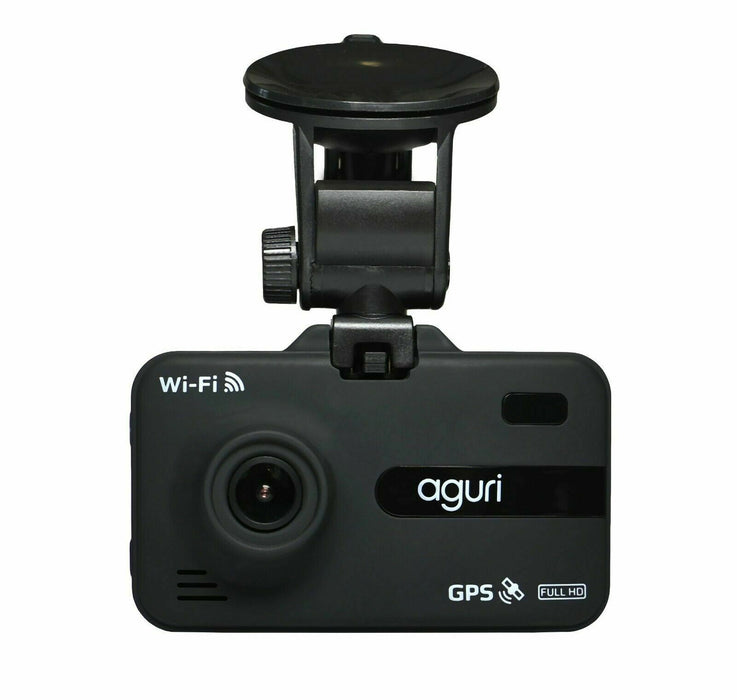 Aguri DX2000 Dash Cam with GPS, Radar, Laser Speed Trap Detection and Wi-Fi