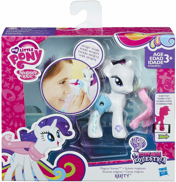 My Little Pony Rarity Explore Equestria Friendship is Magic Figure
