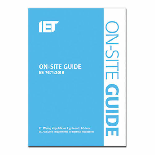 IET 18th Edition Regs Book On Site Guide