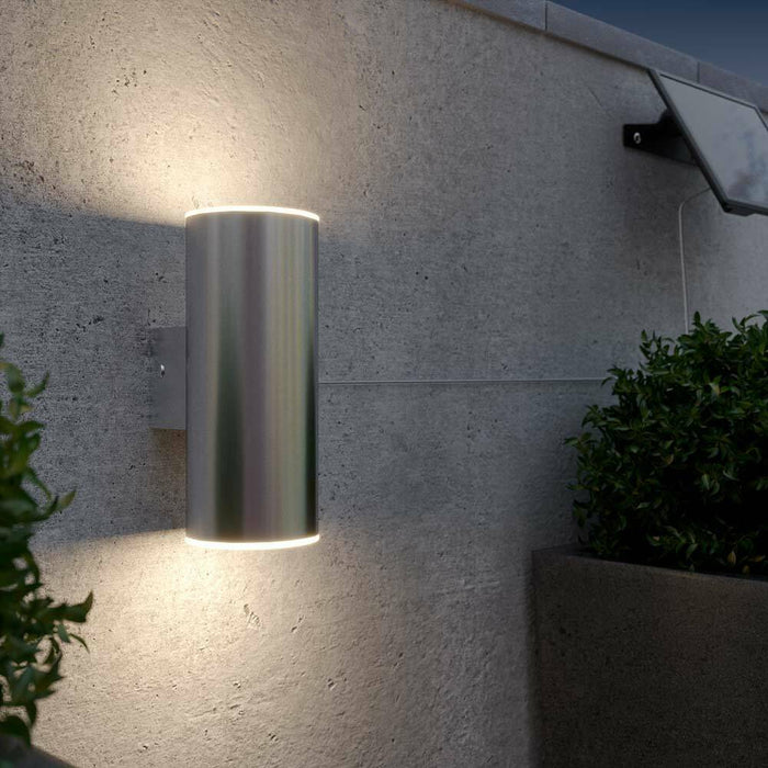 Chester Up & Down Solar Wall Light By The Solar Centre
