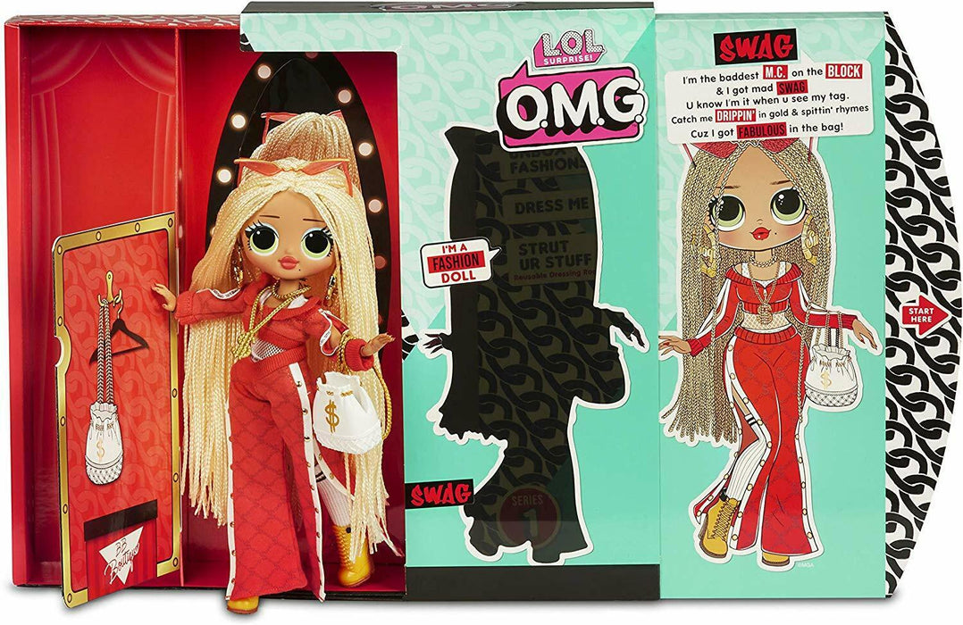 LOLO Surprise! 560548 L.O.L O.M.G. Swag Fashion Doll With 20 Surprises