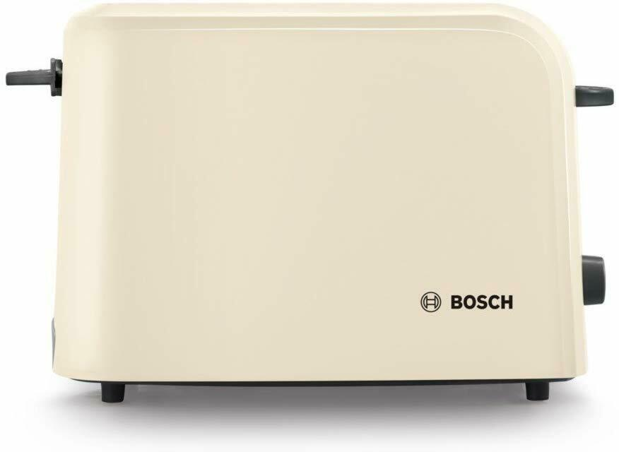 Bosch TAT3A0175G Slice Toaster Cream 980W With Variable Browning Control