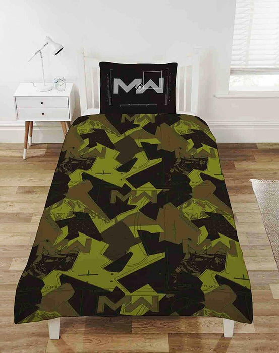 Call Of Duty Modern Warfare Reversible Single Duvet Bedding Set
