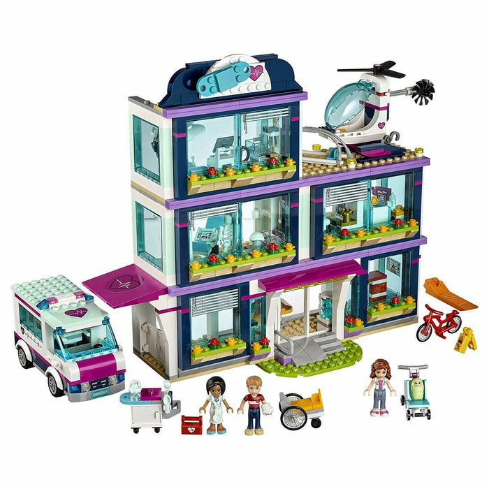 Lego 41318 Friends Heartlake Hospital Brand New and Sealed
