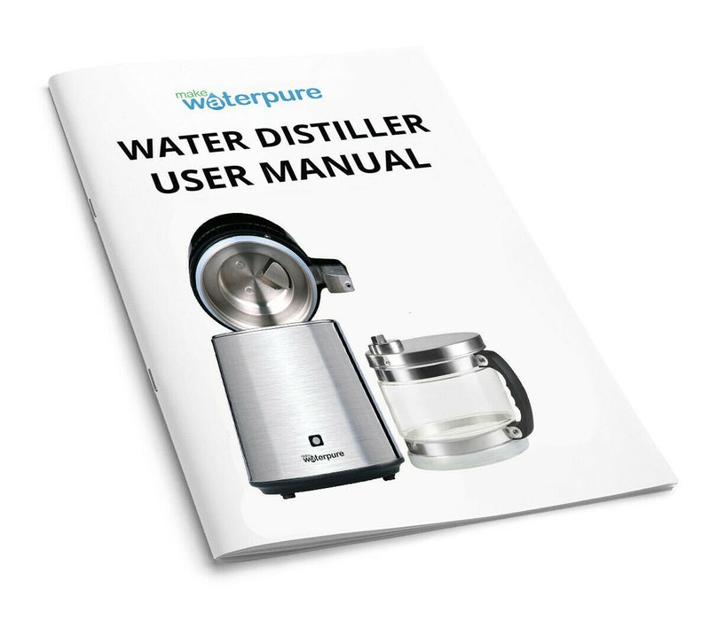 MWP Stainless Steel Water Distiller With Polycarbonate Collection Jug
