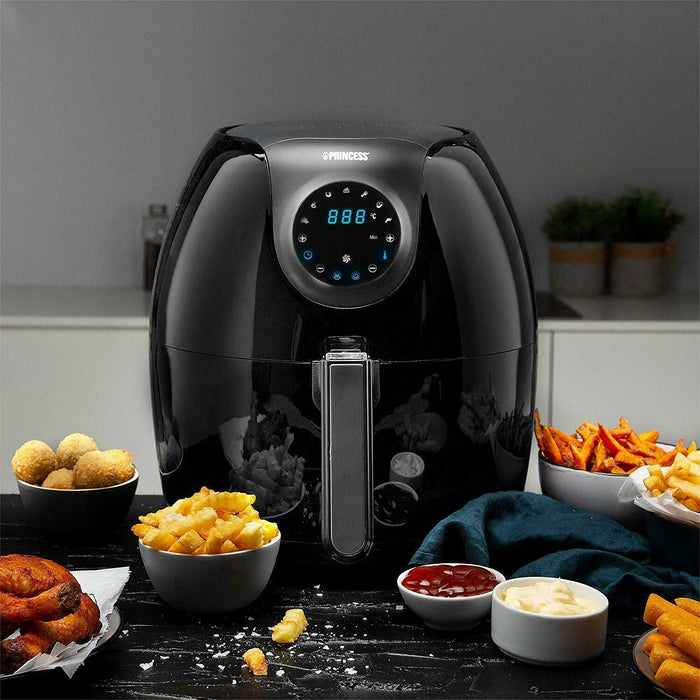 Princess 182050 Digital Air Fryer 5.2L Black 2020 Version