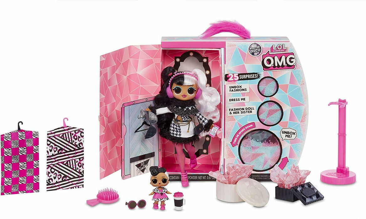LOL Surprise! 561798 L.O.L. Surprise O.M.G. Winter Disco Dollie Fashion Doll