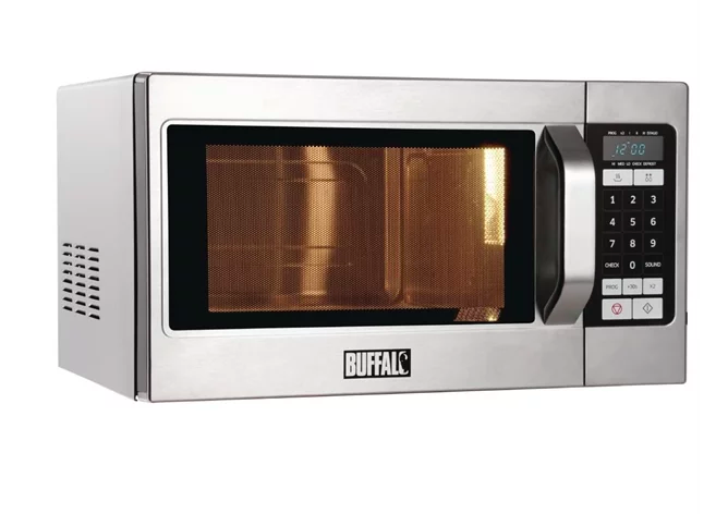 Buffalo Programmable Commercial Microwave Oven 1100W 26 Litres 2020 Model