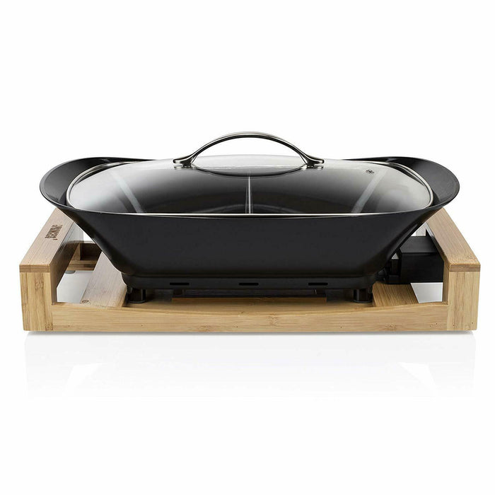 Princess 163025 Multi Cook Pure Black, Bamboo, 1600 W, 4 liters, Bambo