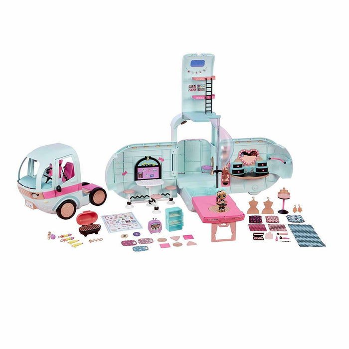 LOL Surprise! 2-in-1 Glamper Fashion Camper with 55+ Surprises Multi
