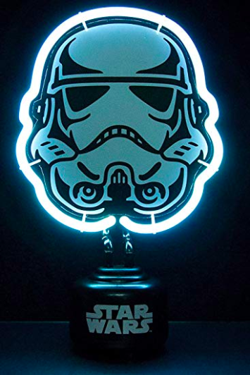 Disney Official Star Wars Stormtrooper Neon Light Bedroom Night Lamp