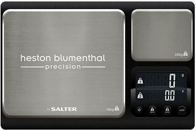 Salter 1049A HBBKDR Electronic Heston Blumenthal Dual Precision Kitchen Scales