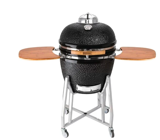 Buffalo Ceramic Kamado BBQ Grill -DR826  Portable Outdoor Catering Barbecue