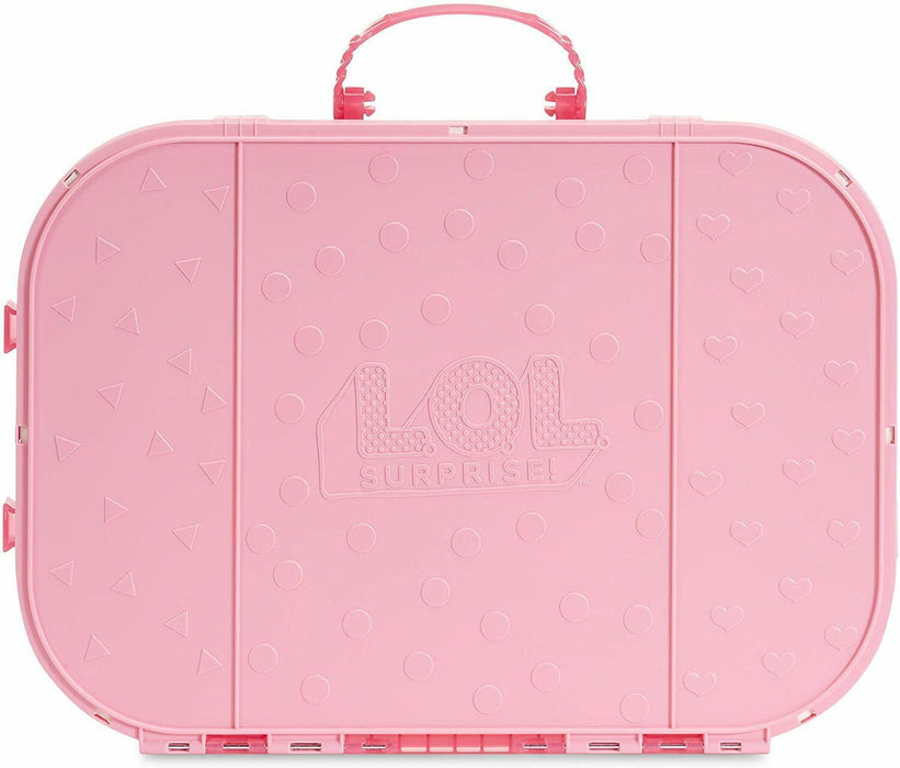 LOL Surprise! Fashion Show On-The-Go Light Pink Storage & Playset