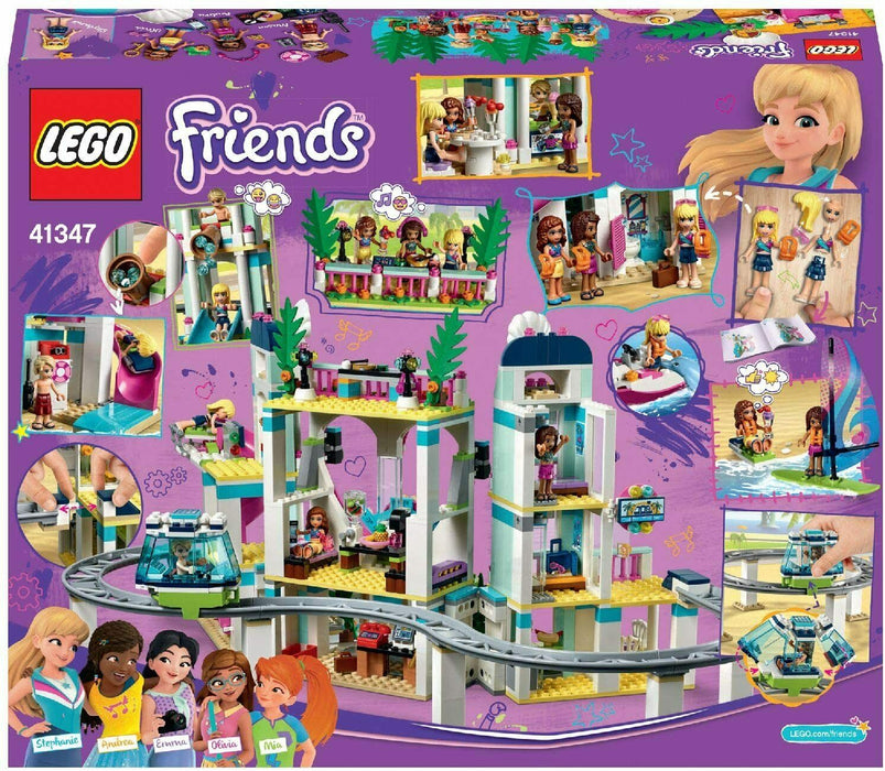 41347 LEGO Friends Heartlake City Resort Set 1017 Pieces Age 7 Years+