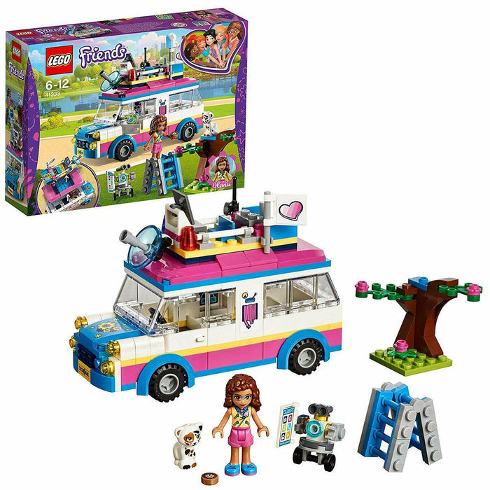 41333 LEGO Friends Olivia's Mission Vehicle 223 Pieces Age 6+