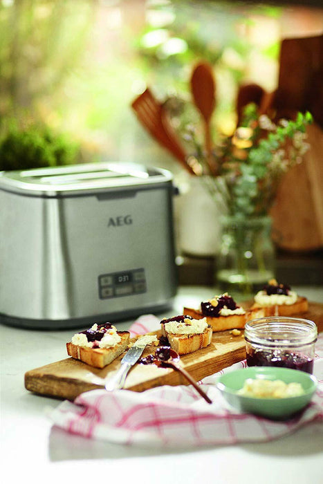AEG 7 Series Stainless Steel Toaster AT7800-U 2020 Version