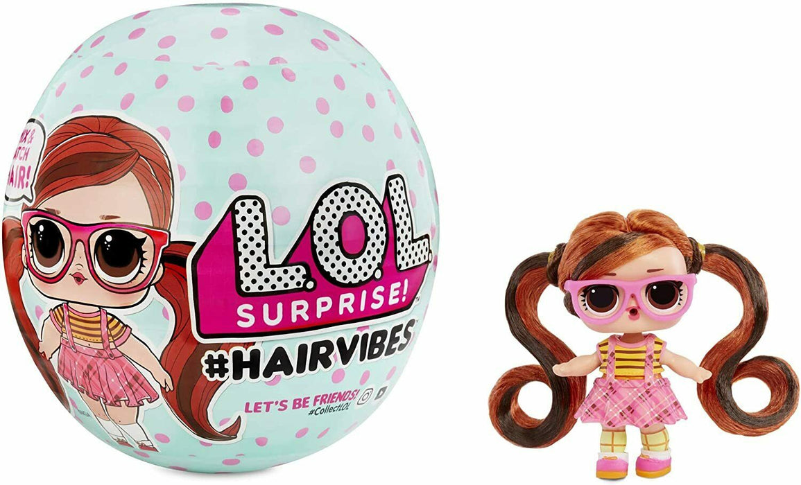 LOL Surprise! #Hairvibes With 15 Surprises - Mix & Match Hair Pieces