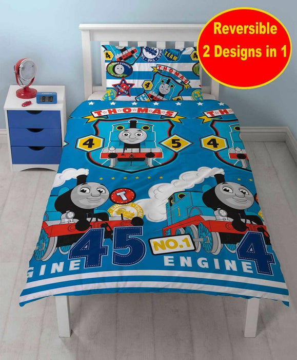 Thomas & Friends Thomas 'Patch' Reversible Single Duvet Set